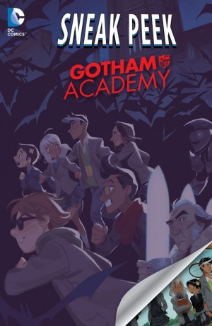 DIVERGENCE - GOTHAM ACADEMY review spoilers 1