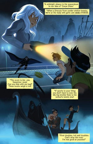 DIVERGENCE - GOTHAM ACADEMY review spoilers 2