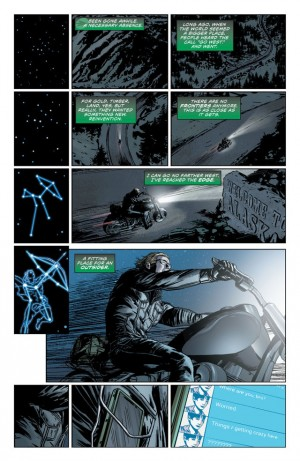 DIVERGENCE - GREEN ARROW review spoilers 2