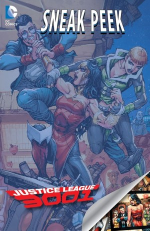 DIVERGENCE - JUSTICE LEAGUE 3001 review spoilers 1