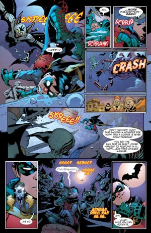 DIVERGENCE - ROBIN SON of BATMAN review spoilers 2