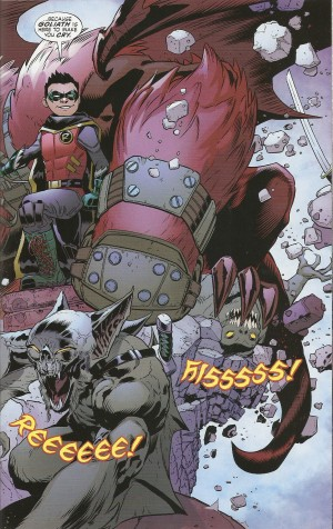 DIVERGENCE - ROBIN SON of BATMAN review spoilers 4