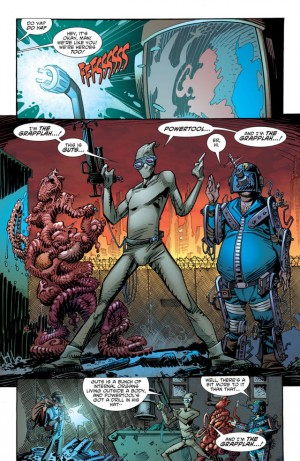 DIVERGENCE - SECTION EIGHT review spoilers 2