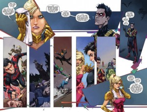 DIVERGENCE - TEEN TITANS review spoilers 2