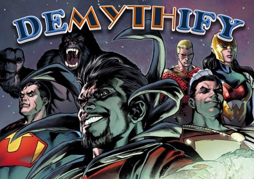 Demythify Convergence #6 #7 #8 spoilers DC Comics