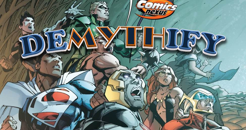 Demythify DC Comics Convergence May 2015 banner