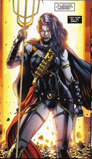 Grail, daughter of Darkseid