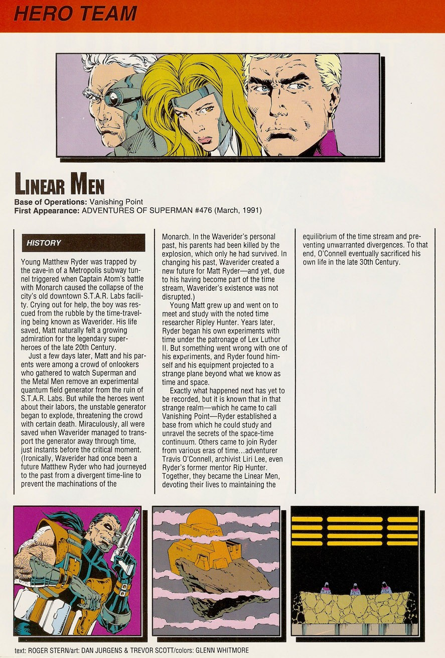 Linear Men DC Who's Who