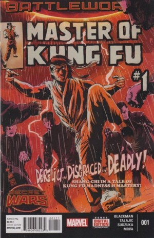 MASTER of KUNG-FU #1 review spoilers 1