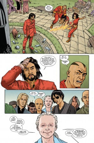 MASTER of KUNG-FU #1 review spoilers 2