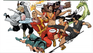 MASTER of KUNG-FU #1 review spoilers 3