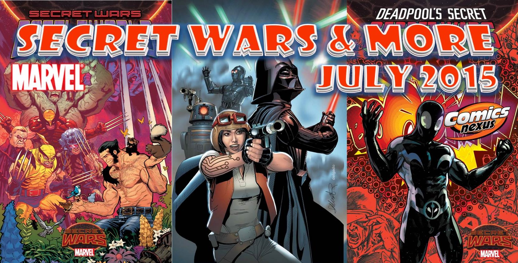 marvel comics july 2015 solicitations