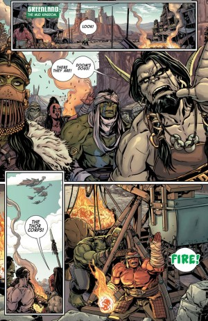 PLANET HULK #1 review spoilers 2