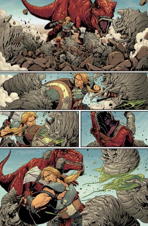 PLANET HULK #1 review spoilers 3