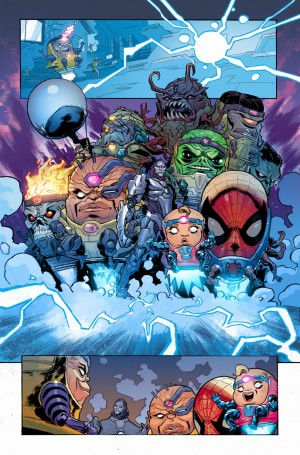 SECRET WARS - BATTLEWORLD #1 review spoilers 3