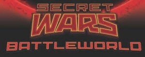SECRET WARS - BATTLEWORLD logo