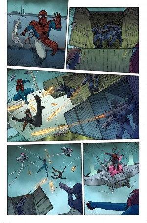 SPIDER-VERSE #1 review spoilers 3