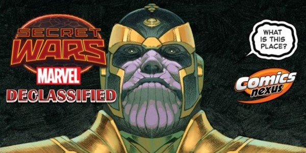 Secret Wars Declassified Week 1 banner