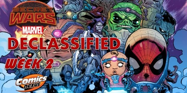 Secret Wars Declassified banner week 2