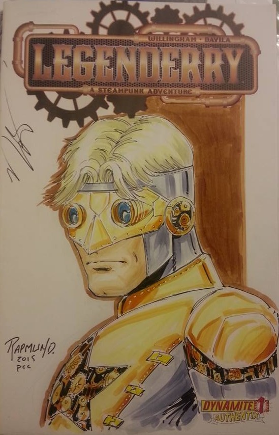 Steampunk Booster Gold by Norm Rapmund 2015 Legenderry Variant Dynamite
