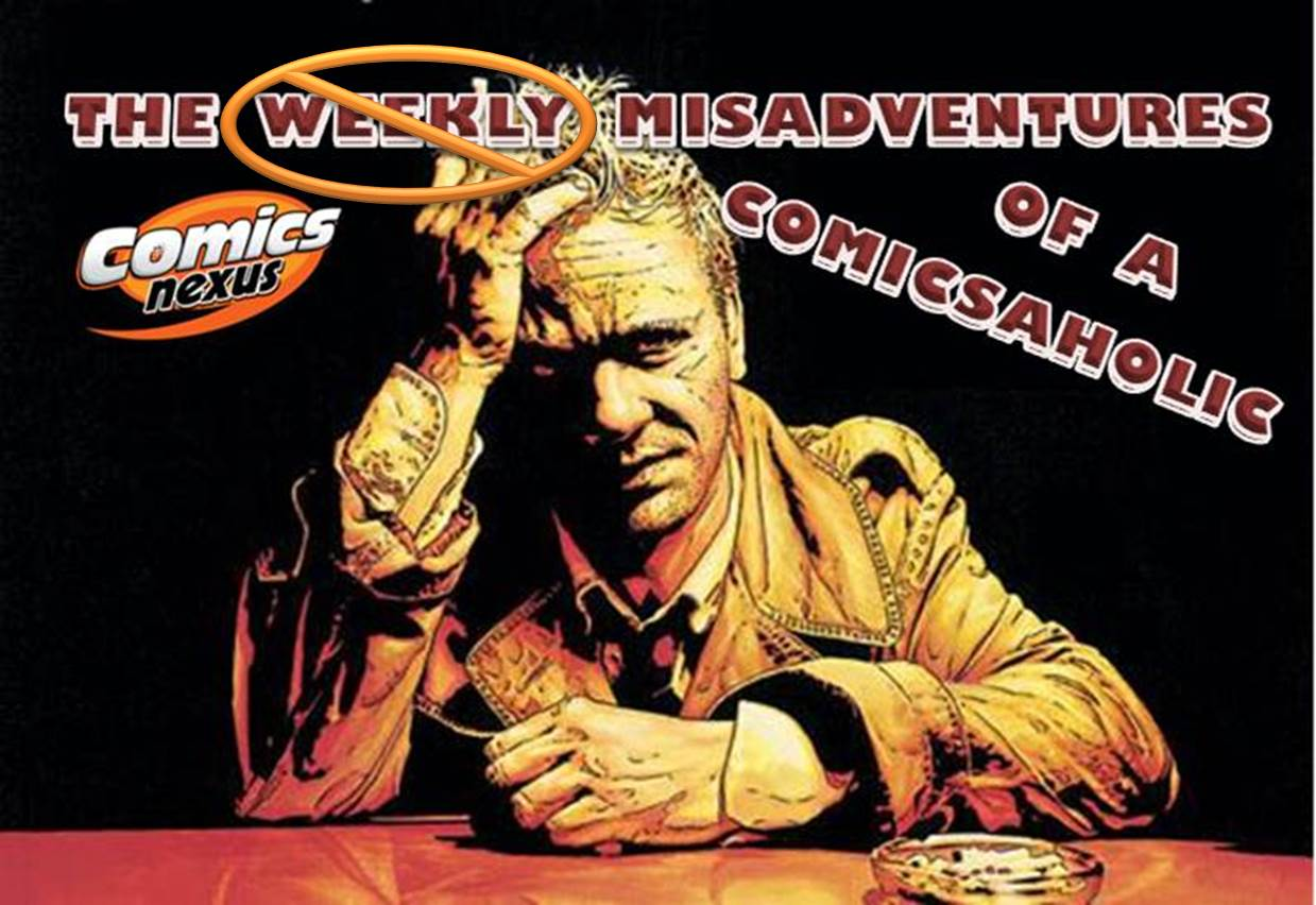 The Not-So Weekly Misadventures of a Comicsaholic banner