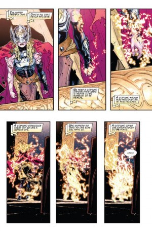 Thor #8 Spoilers Who is Lady Thor Dying Dr Jane Foster 0