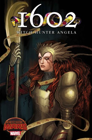 1602 WITCH HUNTER ANGELA #1 review spoilers 1