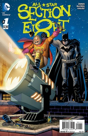 ALL-STAR SECTION EIGHT 1 review spoilers 1