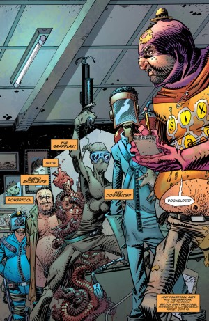 ALL-STAR SECTION EIGHT 1 review spoilers 3