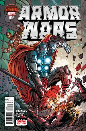 ARMOR WARS #2 review spoilers 1