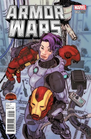ARMOR WARS #2 review spoilers 2