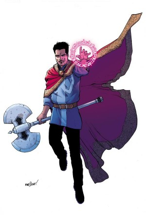 All-New All-Different Marvel 3 Doctor Strange w Thor hammer