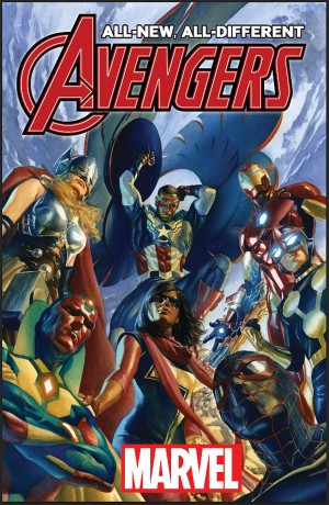 All-New All-DifferentA vengers #1 by Alex Ross