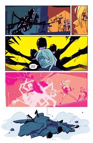 BLACK CANARY 1 review spoilers 5