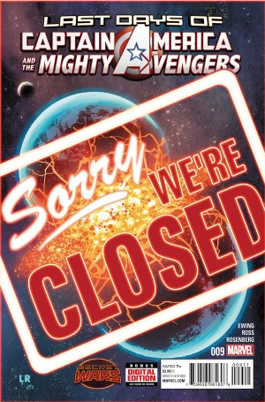 CAPTAIN AMERICA and the MIGHTY AVENGERS #9 review spoilers 1