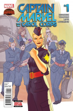 CAPTAIN MARVEL and the CAROL CORPS #1 review spoilers 1