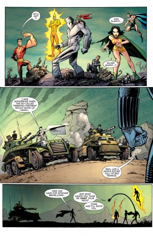 CONVERGENCE - PLASTIC MAN and the FREEDOM FIGHTERS #2 pg. 5