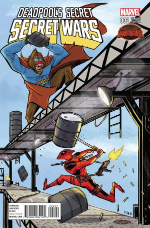 DEADPOOL'S SECRET SECRET WARS #2 review spoilers 2