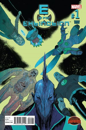 E is for EXTINCTION #1 review spoilers 3