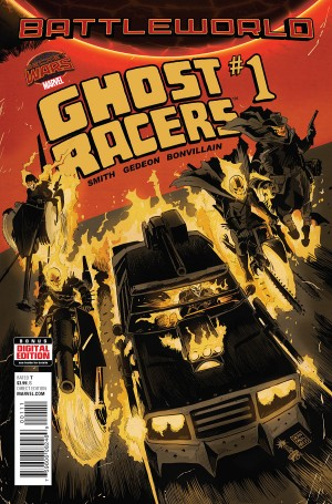 GHOST RACERS #1 review spoilers 1