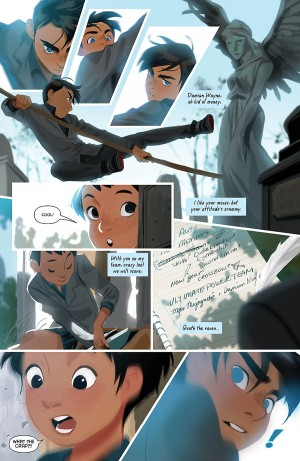 GOTHAM ACADEMY 7 review spoilers 3