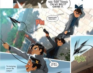 GOTHAM ACADEMY 7 review spoilers 4
