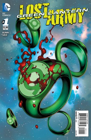 GREEN LANTERN - LOST ARMY 1 review spoilers 1