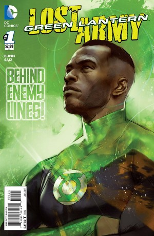 GREEN LANTERN - LOST ARMY 1 review spoilers 2