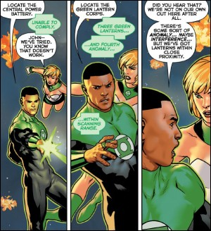 GREEN LANTERN - LOST ARMY 1 review spoilers 3