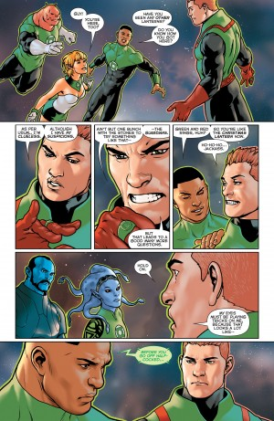 GREEN LANTERN - LOST ARMY 1 review spoilers 5