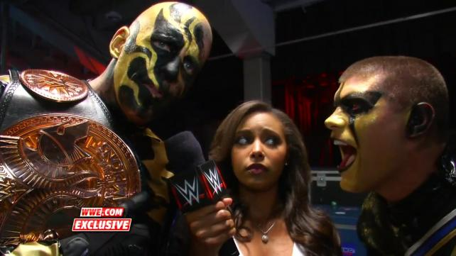 Goldust Stardust and Eden WWE