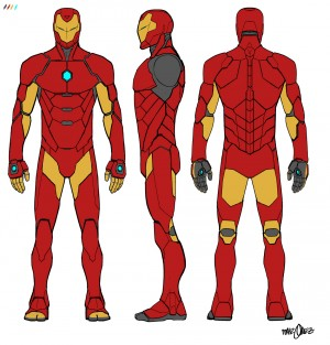 Invincible Iron Man concept art 1