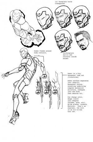 Invincible Iron Man concept art 2