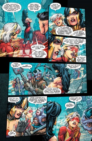 JUSTICE LEAGUE 3001 #1 review spoilers 4